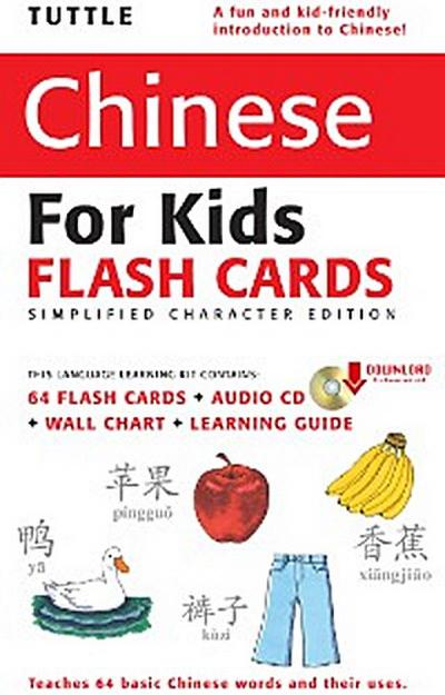Tuttle Chinese for Kids Flash Cards Kit Vol 1 Simplified Cha