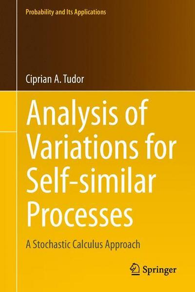Analysis of Variations for Self-similar Processes