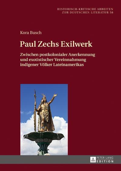 Paul Zechs Exilwerk