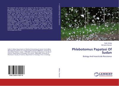 Phlebotomus Papatasi Of Sudan