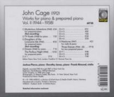 Works For Piano & Prepared Piano-Vol.2