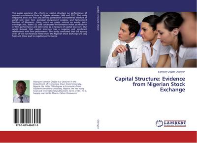 Capital Structure: Evidence from Nigerian Stock Exchange