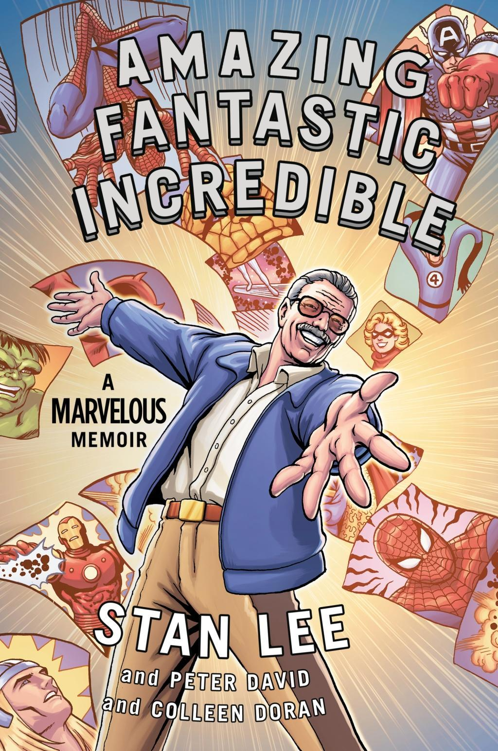 Amazing Fantastic Incredible Stan Lee