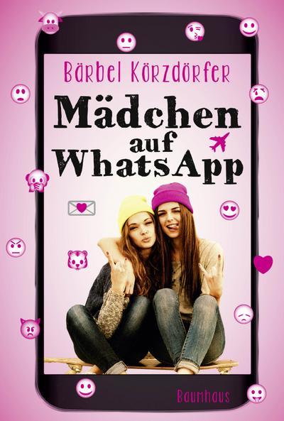 Mädchen auf WhatsApp