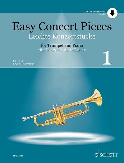 Easy Concert Pieces Band 1. Trompete und Klavier