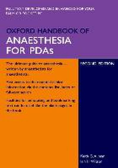 Oxford Handbook of Anaesthesia for PDAs
