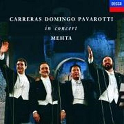 Drei Tenöre Im Konzert Juli 1990