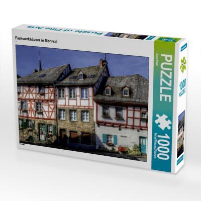 Fachwerkhäuser in Monreal (Puzzle)