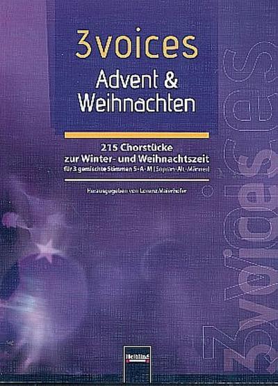 3 voices Advent & Weihnachten