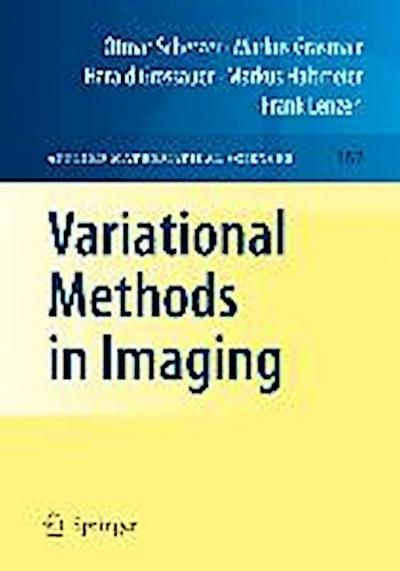 Variational Methods in Imaging