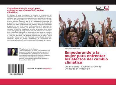 Empoderando a la mujer para enfrentar los efectos del cambio climático