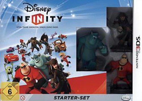 Disney Infinity: Starter - Set - [Nintendo 3DS] 3ds Adventure