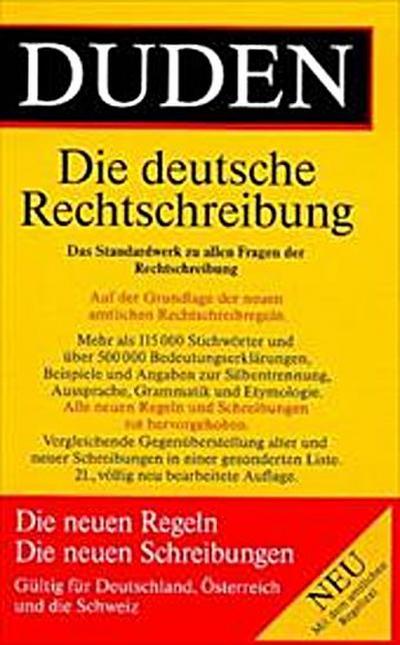 Duden: Rechtschreibung der deutschen Sprache