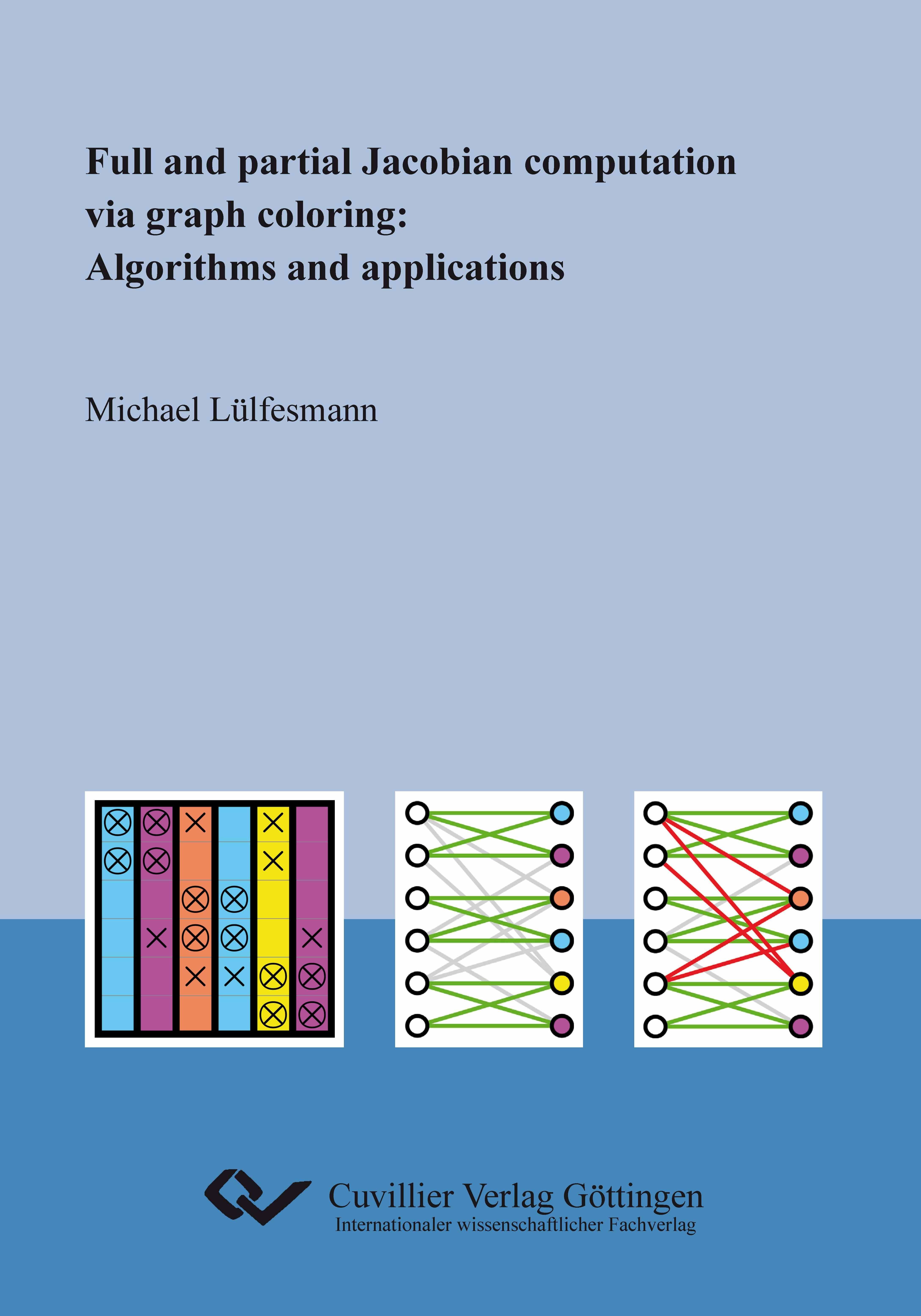 Michael Lülfesmann , Full and partial Jacobian computation v ... 9783954041015