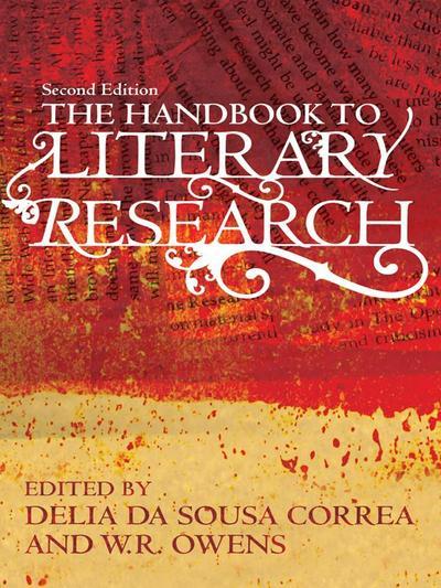 Handbook to Literary Research