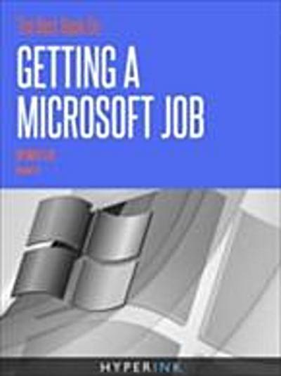 Best Book On Getting A Microsoft Job