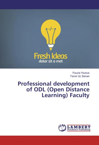 Professional development of ODL (Open Distance Learning) Faculty