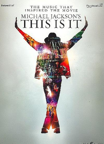 Michael Jackson : This is it (Deluxe Edition)songbook piano/vocal/guitar