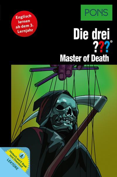 PONS: Die drei ??? Master of Death (drei Fragezeichen): Englisch lernen ab dem 3. Lernjahr