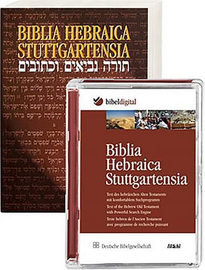 Biblia Hebraica Stuttgartensia. Buch und CD-ROM