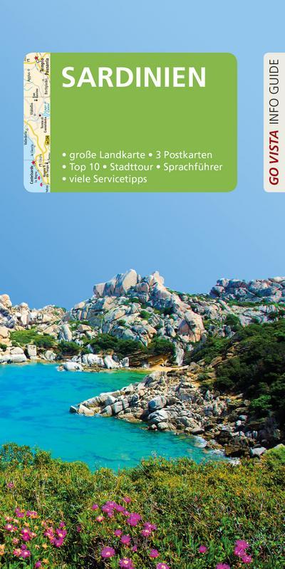 GO VISTA: Reiseführer Sardinien: Mit Faltkarte und 3 Postkarten (Go Vista Info Guide)