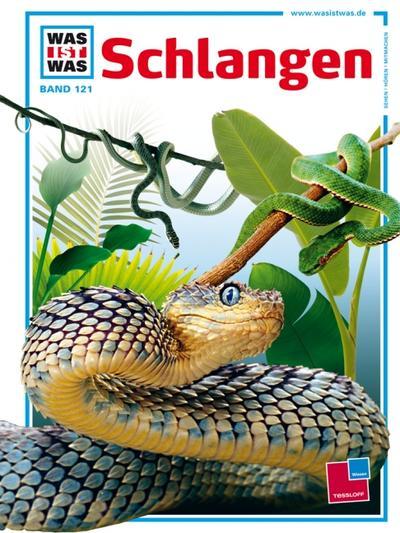 Was ist was, Band 121: Schlangen; WAS IST WAS - Kernreihe; Ill. v. Brandstetter, Johann; Deutsch; Mit vielen Fotos, Illustrationen und Infokästen