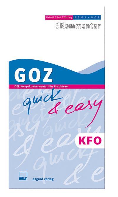 GOZ quick & easy KFO