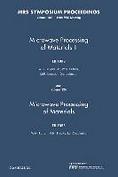 MICROWAVE PROCESSING OF MATERI