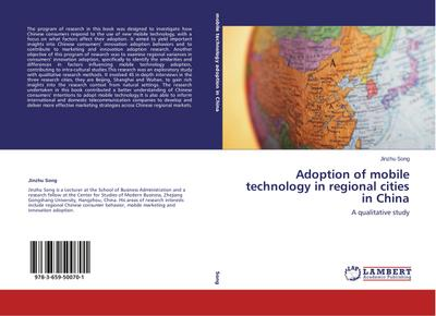 Adoption of mobile technology in regional cities in China