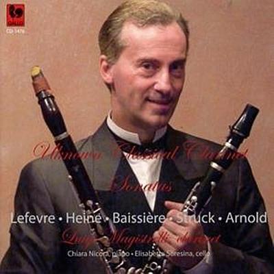 Unbekannte klassische Klarinettensonaten