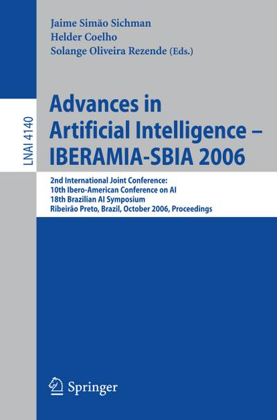 Advances in Artificial Intelligence - IBERAMIA-SBIA 2006