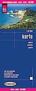 Reise Know-How Landkarte Korfu (1:65.000): world mapping project