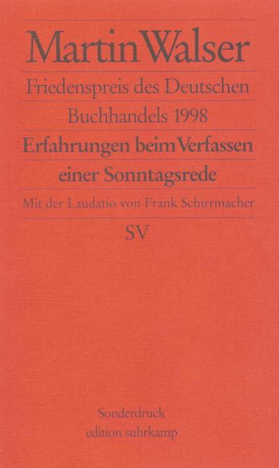 Friedenspreis des Deutschen Buchhandels 1998