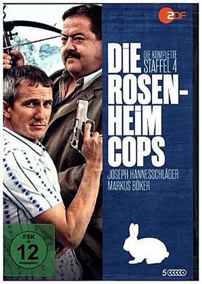 Die Rosenheim-Cops. Staffel.4, 5 DVD