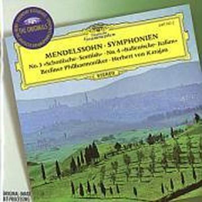 "Mendelssohn: Symphonies Nos.3 ""Scottish"" & 4 ""Italian"", Overture ""The Hebrides"""
