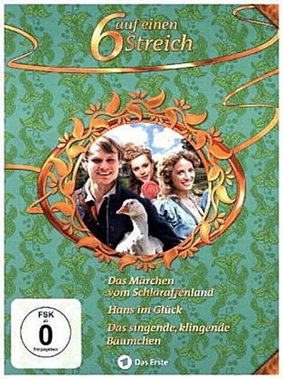 Das Märchen vom Schlaraffenland; Hans im Glück; Das singende, klingende Bäumchen, 3 DVDs