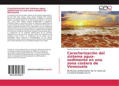 Caracterización del sistema agua-sedimento en una zona costera de Venezuela
