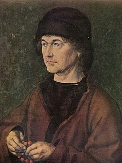 Albrecht Dürer - Porträt Albrecht Dürer der Ältere - 200 Teile (Puzzle)