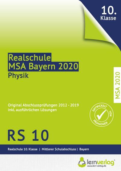 Original Abschlussprüfungen Physik Realschule Bayern 2020