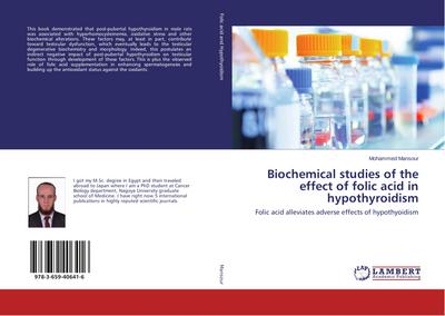 Biochemical studies of the effect of folic acid in hypothyroidism