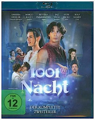 1001 Nacht - Der komplette Zweiteiler aus Tausenundeiner Nacht, 1 Blu-ray