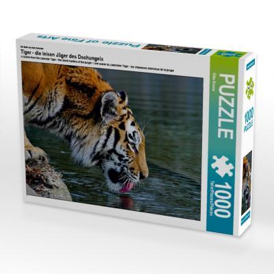 Ein Motiv aus dem Kalender Tiger - die leisen Jäger des Dschungels (Puzzle)