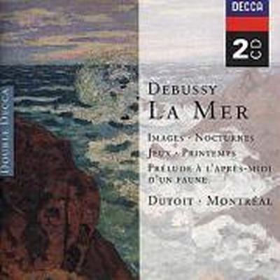 Debussy: La Mer, Images, Nocturnes etc.