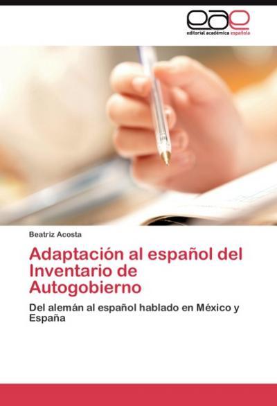 Adaptación al español del Inventario de Autogobierno