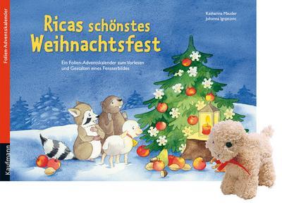 Ricas schönstes Weihnachtsfest. Ausgabe mit einem Stoffschaf
