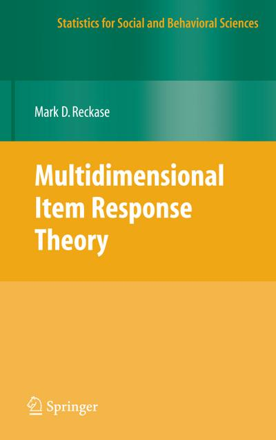 Multidimensional Item Response Theory