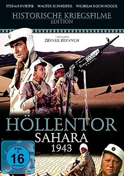 Höllentor Sahara 1943, 1 DVD