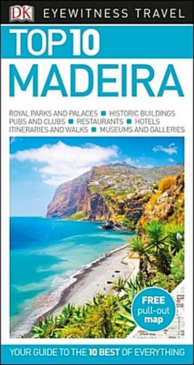 DK Eyewitness Travel Top 10 Madeira