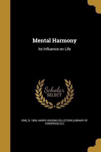 MENTAL HARMONY