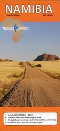 Namibia GPS-Tracks Karte 1 : 1 000 000